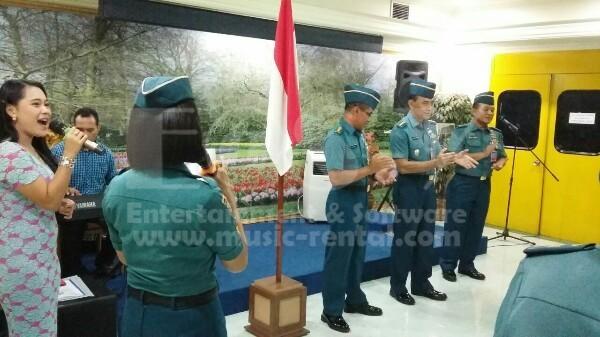 Sewa Organ Tunggal Pelantikan dan HUT di MABES TNI AL Cilangkap