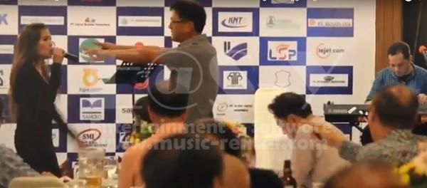 Sewa Organ Tunggal Gathering Bank Woori Saudara Indonesia di Damai Indah Golf BSD