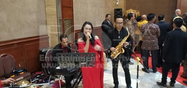 Organ Tunggal dengan Saxophone di Resepsi Pernikahan Gefung Pertanian Jakarta Selatan