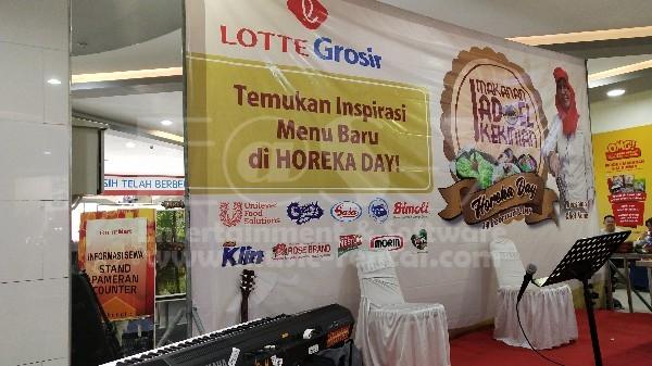 Sewa Organ Tunggal Acara di Jakarta, Demo Masak di Lottemart Kelapa Gading