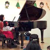 クリスマス会ピアノ連弾