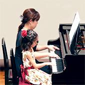 足立区小台ピアノ教室ピアノ連弾