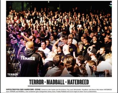Terror, Fuze Magazin 69 APR/MAI 18, http://fuze-magazine.de