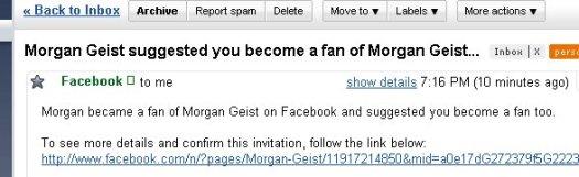 Morgan became a fan of Morgan