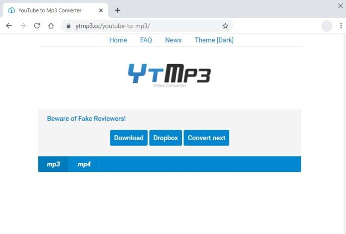 YTmp3 Downloader