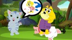 Baby Cat Cartoon | Baby Princess Catty gets a rescue dog