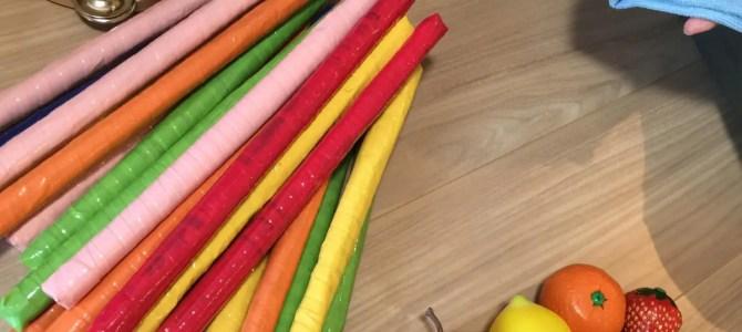 教具は毎回綺麗に清掃しています!