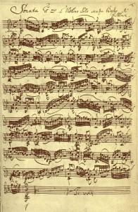 BWV1001