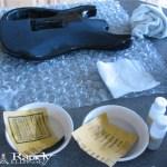 Guitar Paint Repair