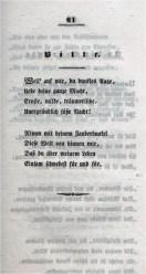 Стихотворение Bitte (Просьба) Николауса Ленау в сборнике стихов 1832 года