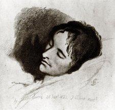 Джозеф Северн. Джон Китс на смертном одре (1821)