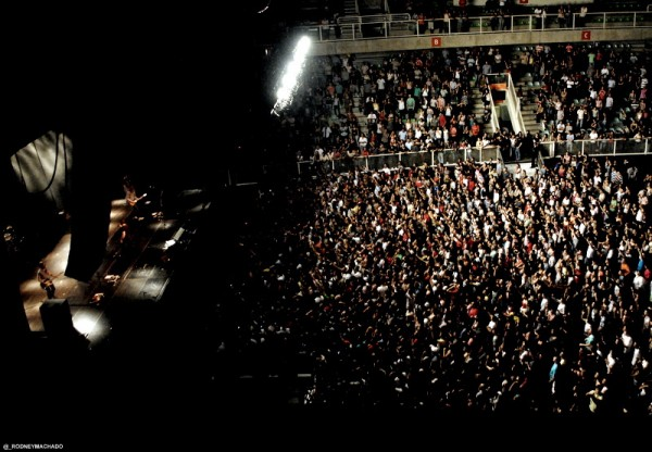 Público no Chevrolet Hall (Foto: Rodney Machado)