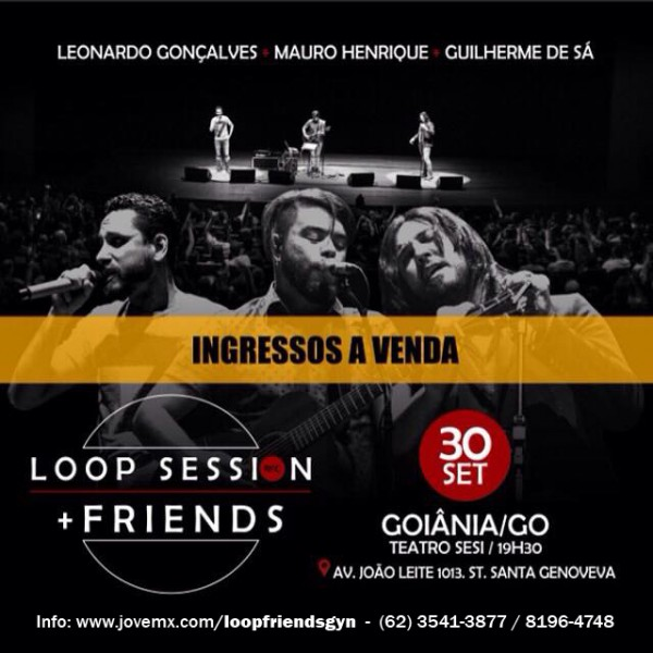 loop session +friends - mauro henrique