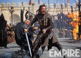 "Michael Fassbender en ""Assassin's Creed""."