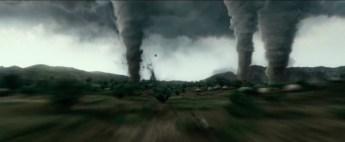 """Escena de """"Geostorm"""" (2017)."""