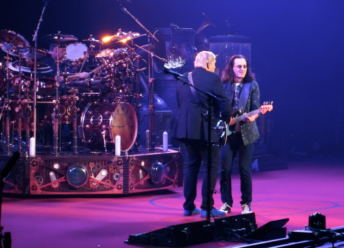 Concert Review: Rush at the Bell Centre, Montreal - October 19 2012