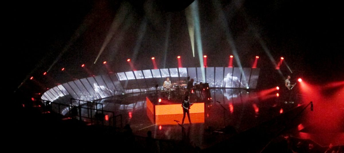 Concert Review - Muse at the Bell Centre, Montreal, April 24 2013