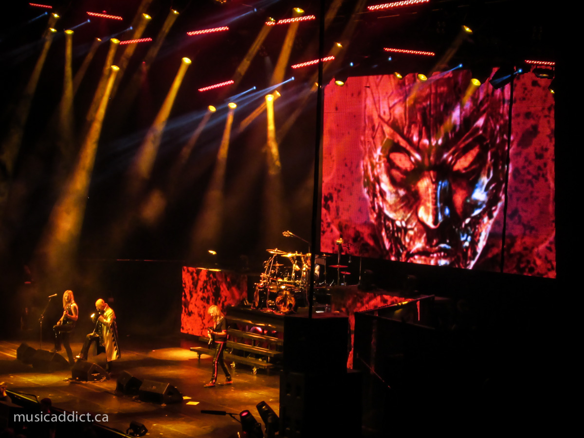 Concert Review: Judas Priest with Steel Panther - Bell Centre, Montreal - October 6th 2014