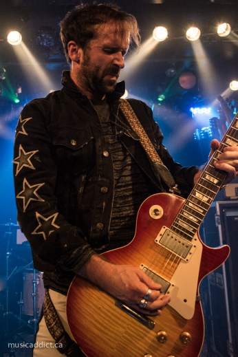 The Trews October 16th 2014 Photo by Jean-Frederic Vachon
