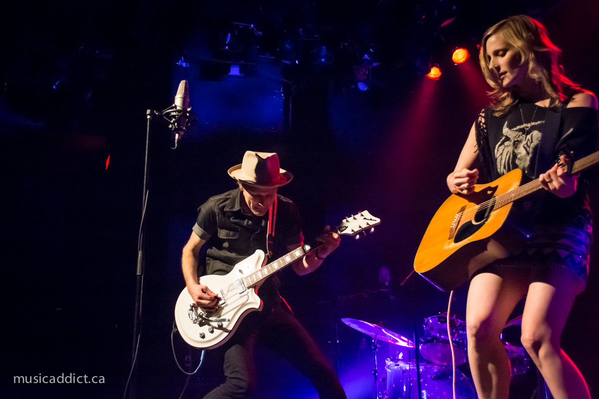 Concert review: Whitehorse at l'Astral, Montreal - February 21st 2015