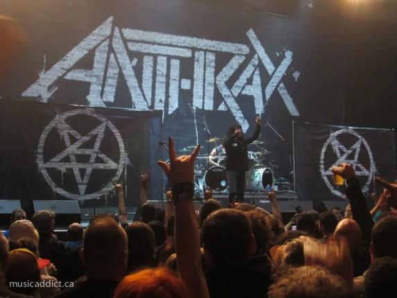 Anthrax - Montreal May 15 2015