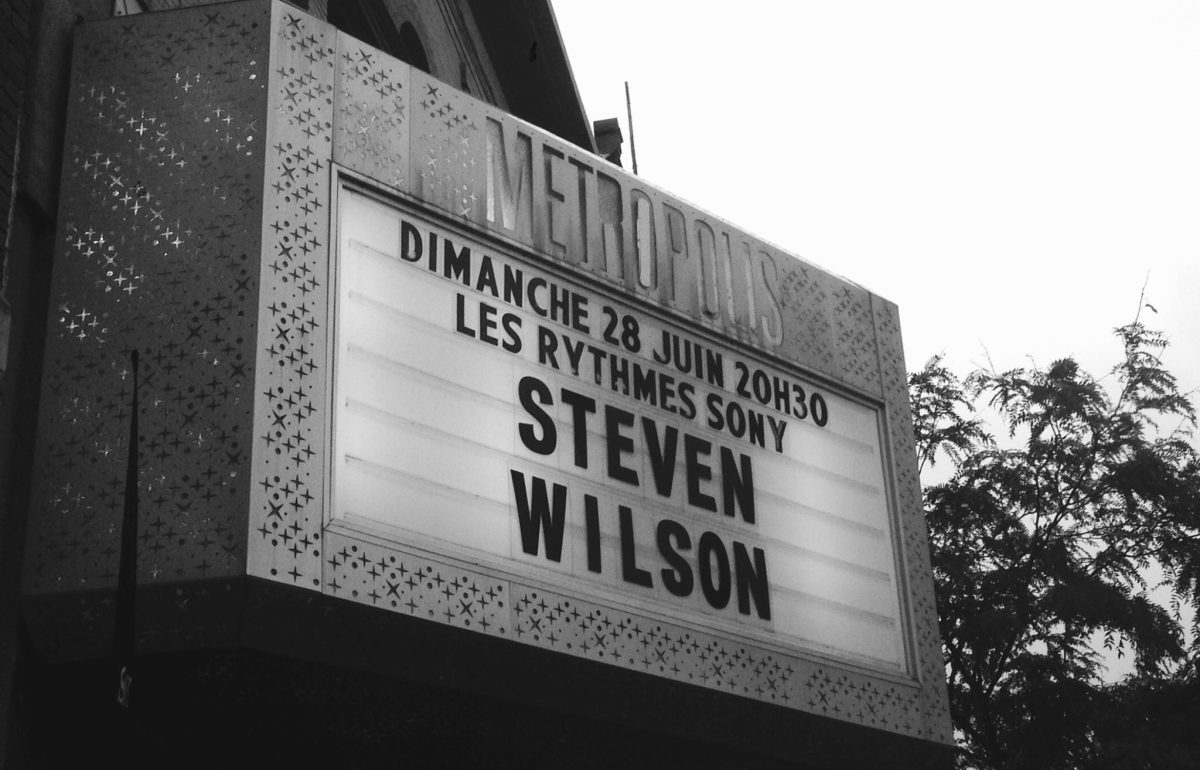 Concert review: Steven Wilson - Metropolis, Montreal - June 28th 2015