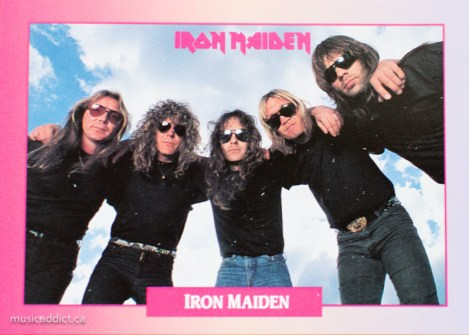 Iron Maiden, wondering what they're doing in this collection.