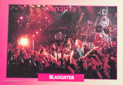 Slaughter, staying up all night and sleeping all day