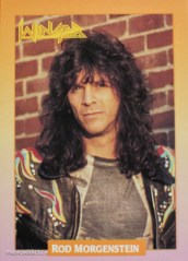 Rod Morgenstein of Winger. Ultra talented musicians who decided to do pop metal for $$$.