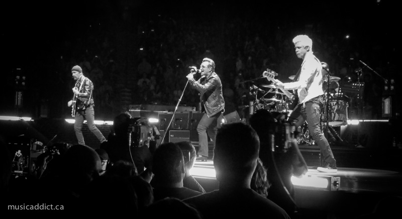 U2 June 13 2015. (Photo by Jean-Frederic Vachon)