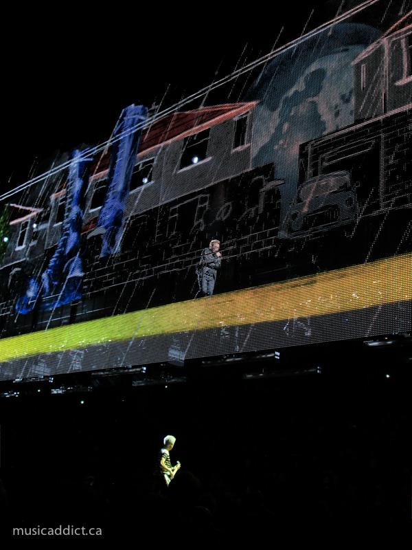 U2 June 13 2015. (Photo by Jean-Frederic Vachon)