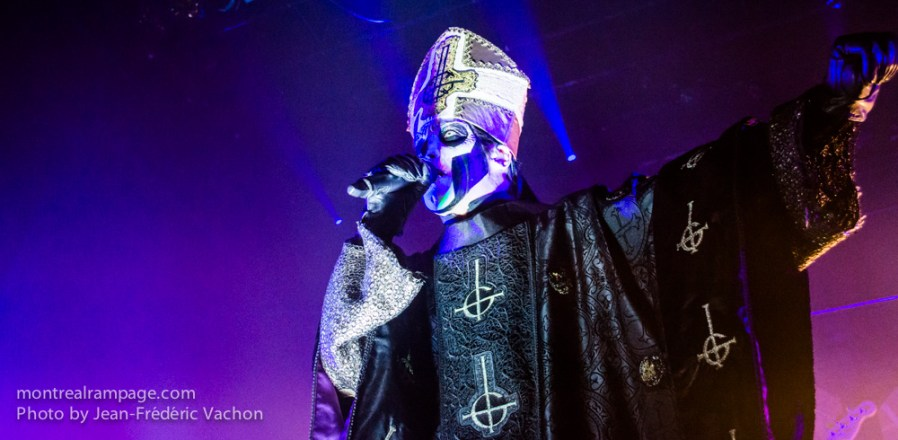 Ghost - September 30th 2015 (Photo by Jean-Frederic Vachon)