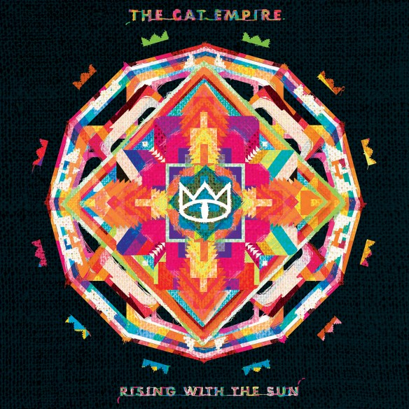 The Cat Empire - Rising With The Sun - Album Art
