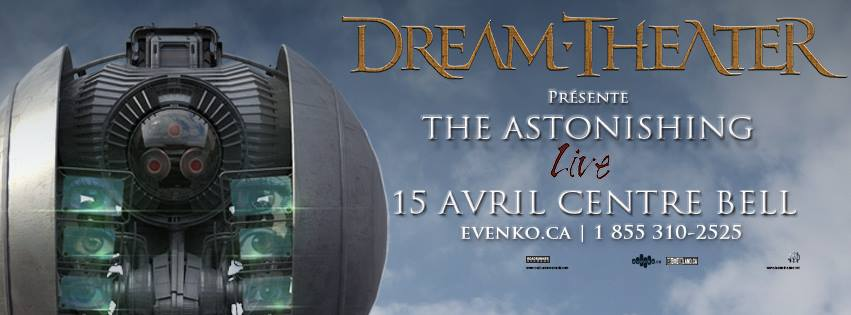 Concert review: Dream Theater - Bell Centre, Montreal - April 15th 2016