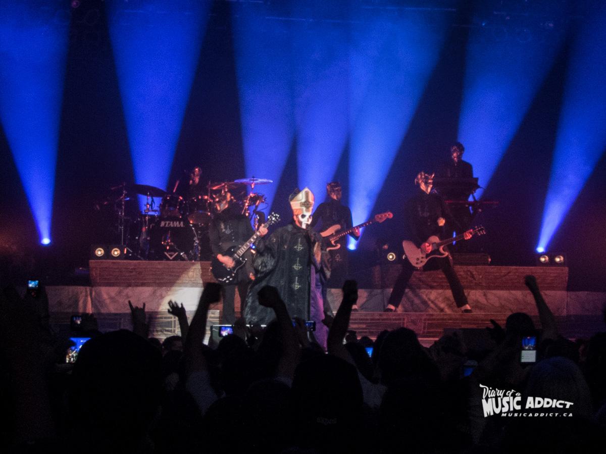 Concert review: Ghost - Metropolis, Montreal - November 11 2016