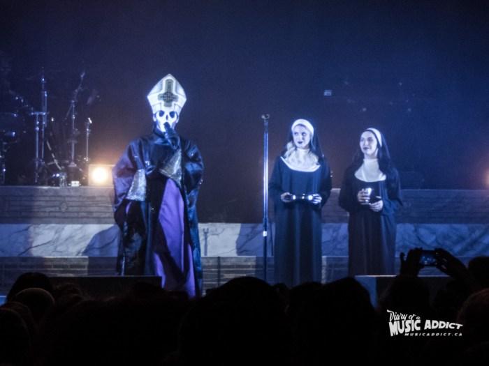 Ghost with the Sisters of Sin - Metropolis, Nov 11 2016