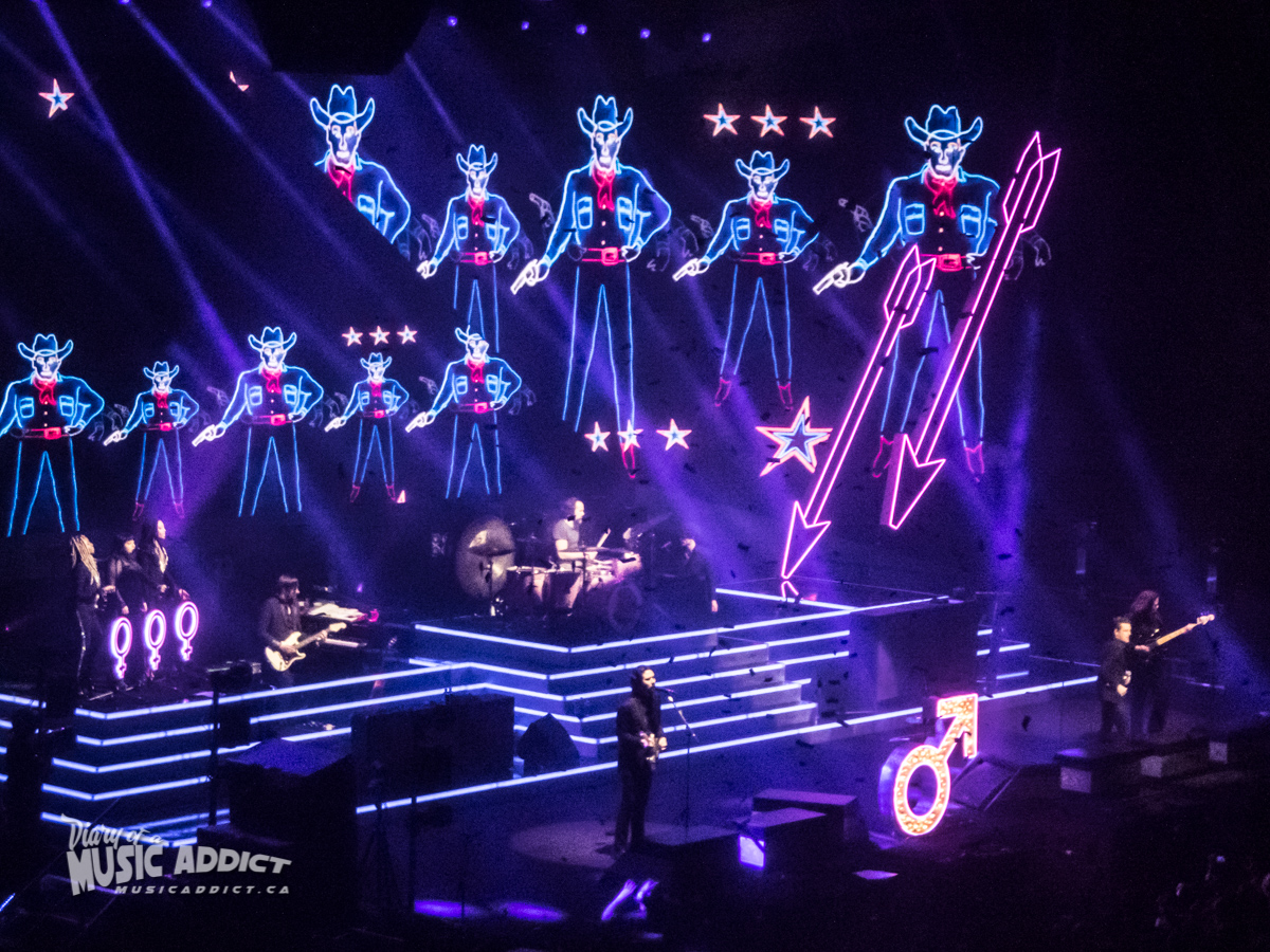 Concert review: The Killers - Place Bell, Laval - January 6th 2018