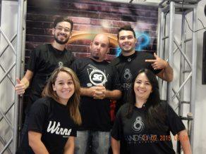 O time da Estudantil Music Store