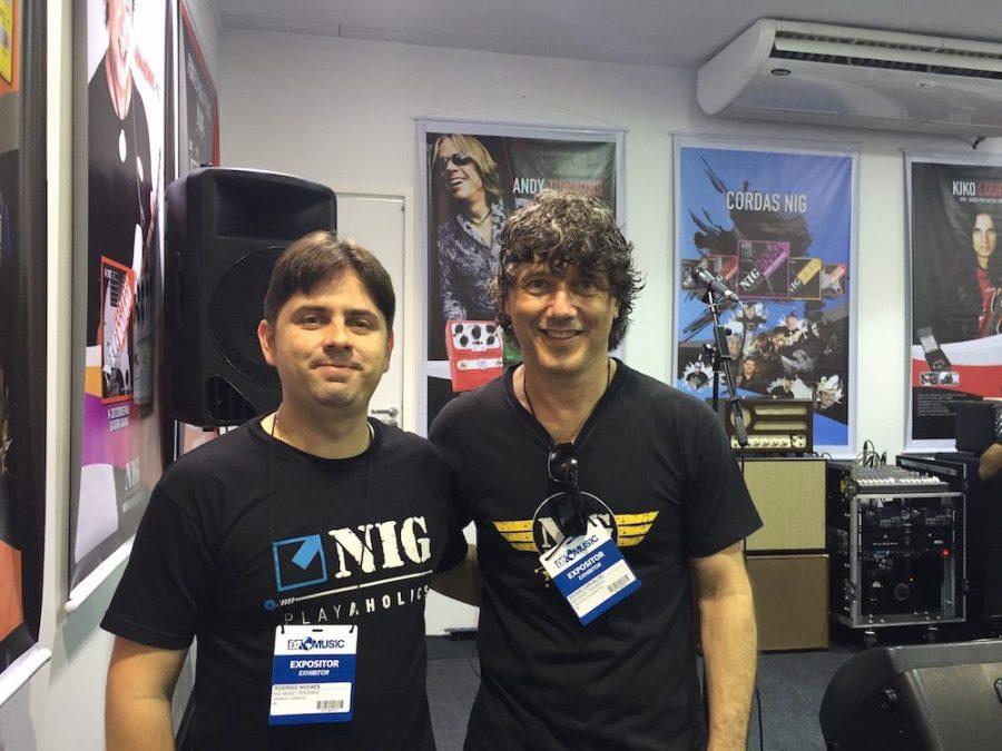 Rodrigo Novaes e Sydnei Carvalho