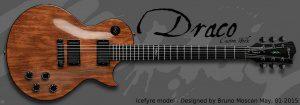 Draco Guitars: criação da luthieria de Moscan