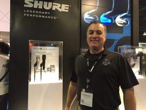 Adinaldo Neves, Especialista de Desenvolvimento de Mercado da Shure