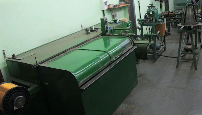 Maquinário especial para fabricação