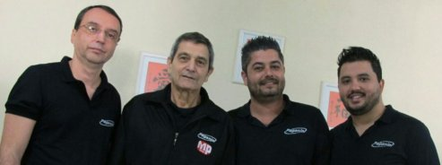 José Ricardo, Sinésio Ianicelli, Daniel Ianicelli e Roberto Akutagawa