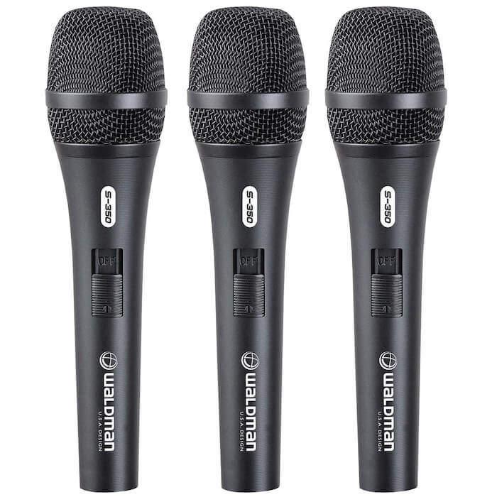 microfone waldman