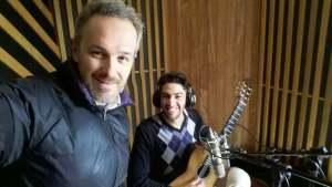 Marcos Mangoni, produtor, e Jackie dos Passos