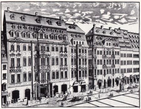 Aquí se estrenaron muchas cantatas profanas y obras instrumentales de Johann Sebastian Bach.