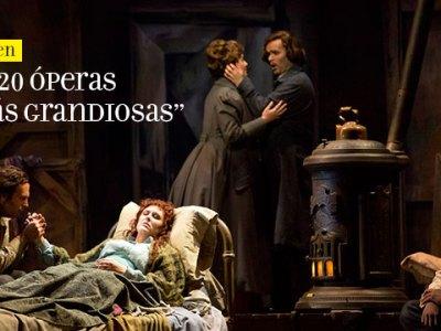 las 20 óperas más grandiosas