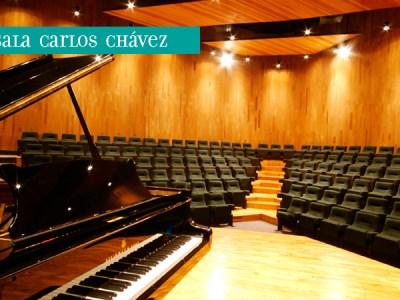 Sala Carlos Chávez del CCU - UNAM