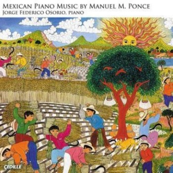 Mexican piano music by Manuel M. Ponce