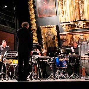 Orquesta percusiones UNAM